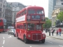 "London ""Routemaster"" Double Decker Buses"