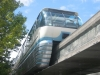 Alweg monorail train