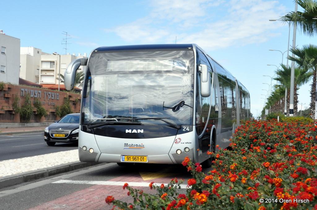 PHOTOS Metronit BRT Other Haifa Bus Photos