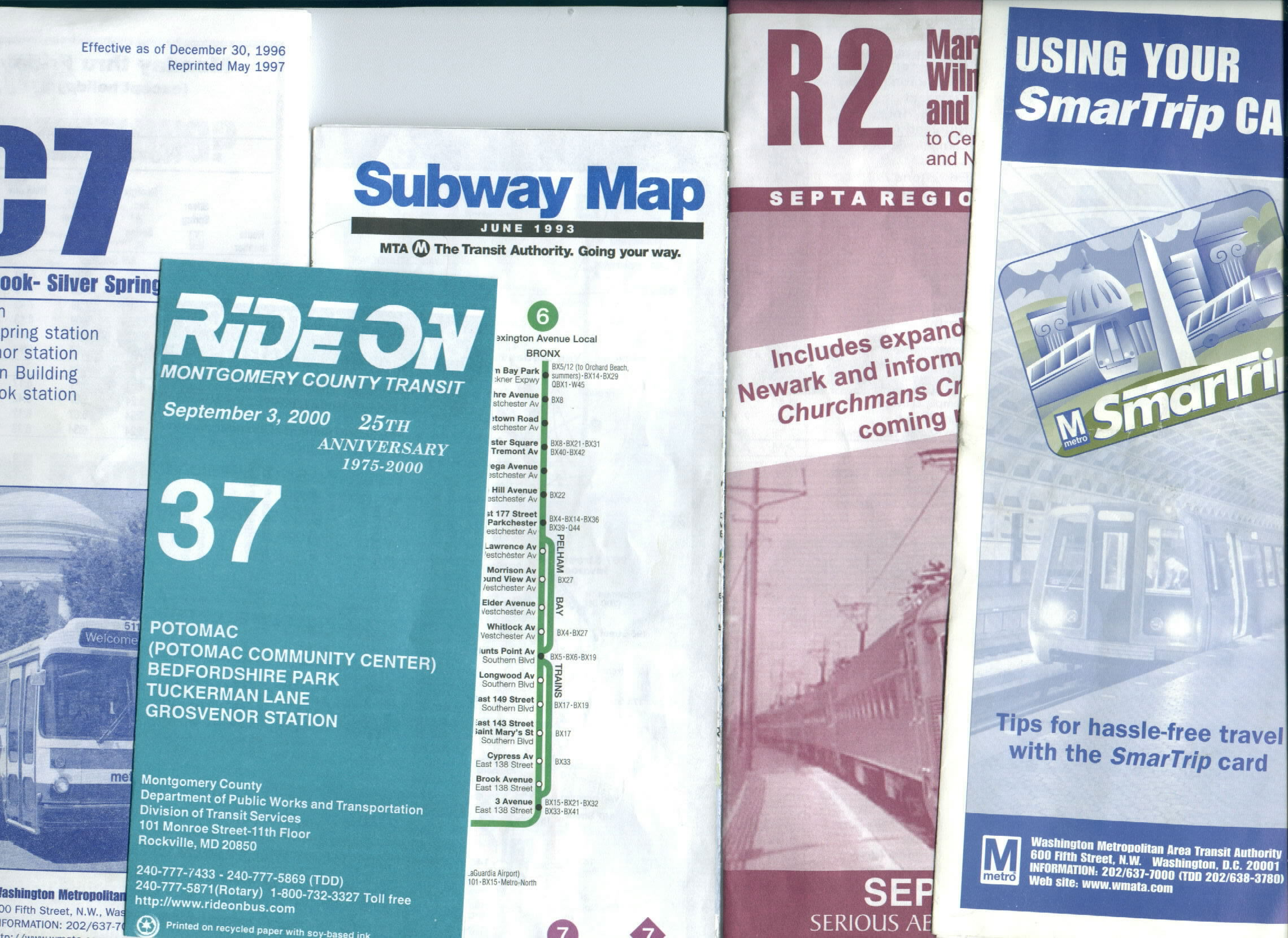 New York City Subway Map May 2000.Map And Schedule Rack