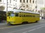 Muni F-Market Street Line (Historic Streetcars)