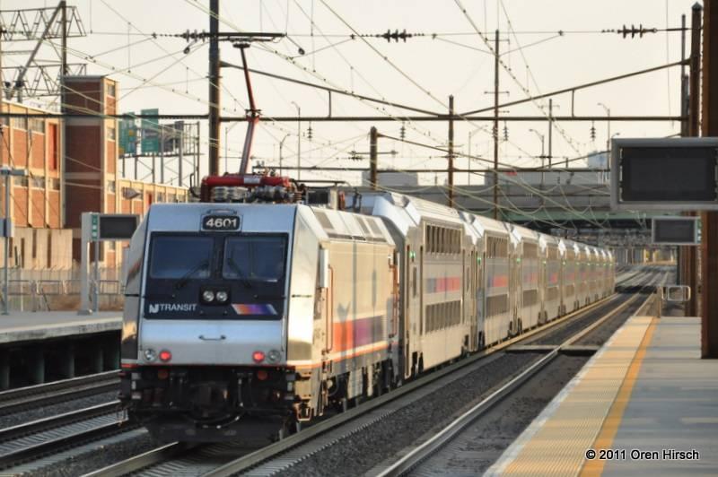 New Jersey Transit Rail Operations Oren S Transit Page