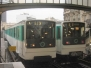 Paris Metro MP73 Stock