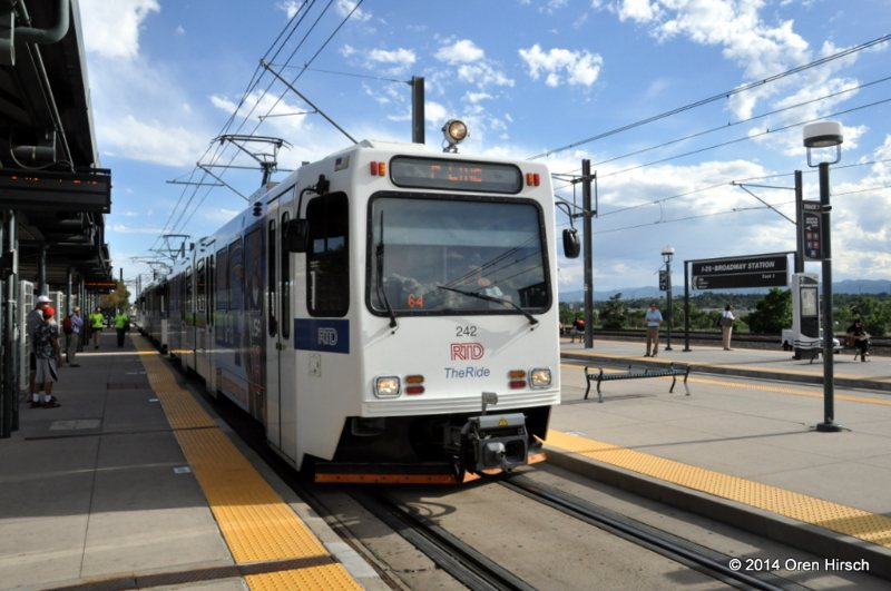 RTD Light Rail | Oren's Transit Page