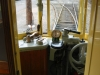Melbourne W2 tram Interior: Operator's cab