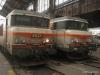 SNCF Class 7200 locomotive 107257 & an unidentified Class 7200 locomotive